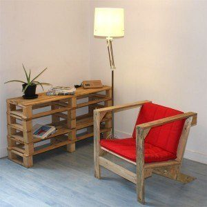 pallet furniture ideas- Pallet sofa plan and ideas