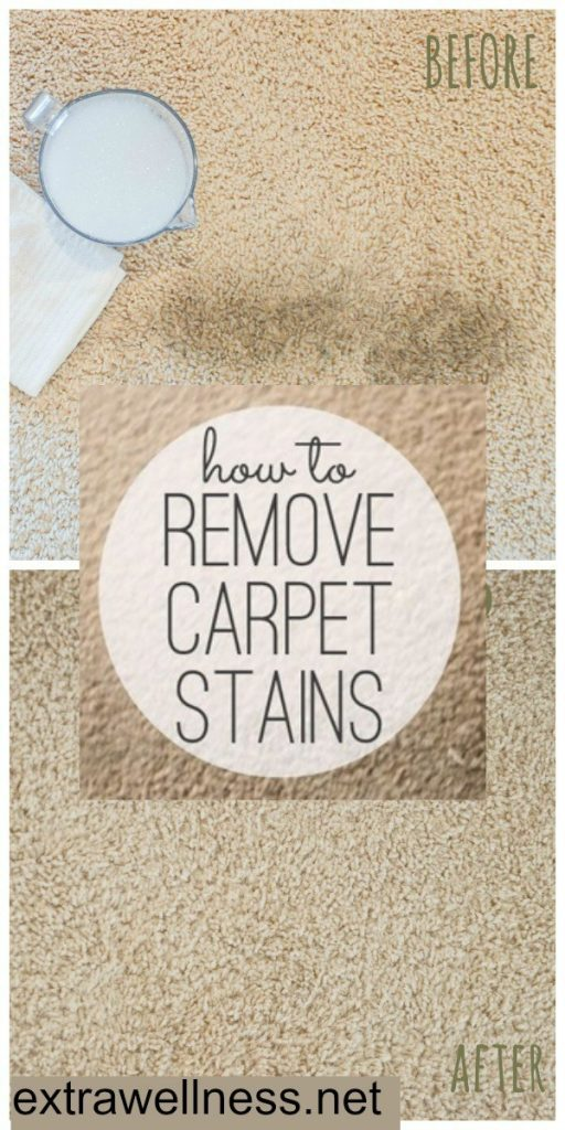 Here's how to make a natural dry carpet stain remover to freshen your rugs with step