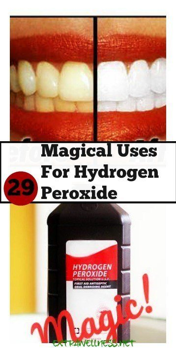 how to clean contacts with hydrogen peroxide