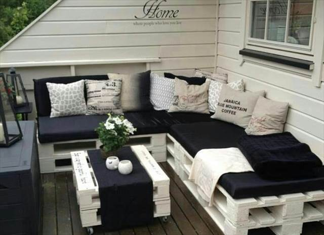 Pallet Furniture Sofa Ideas - 21 DIY Pallet Sofa Plan And Ideas